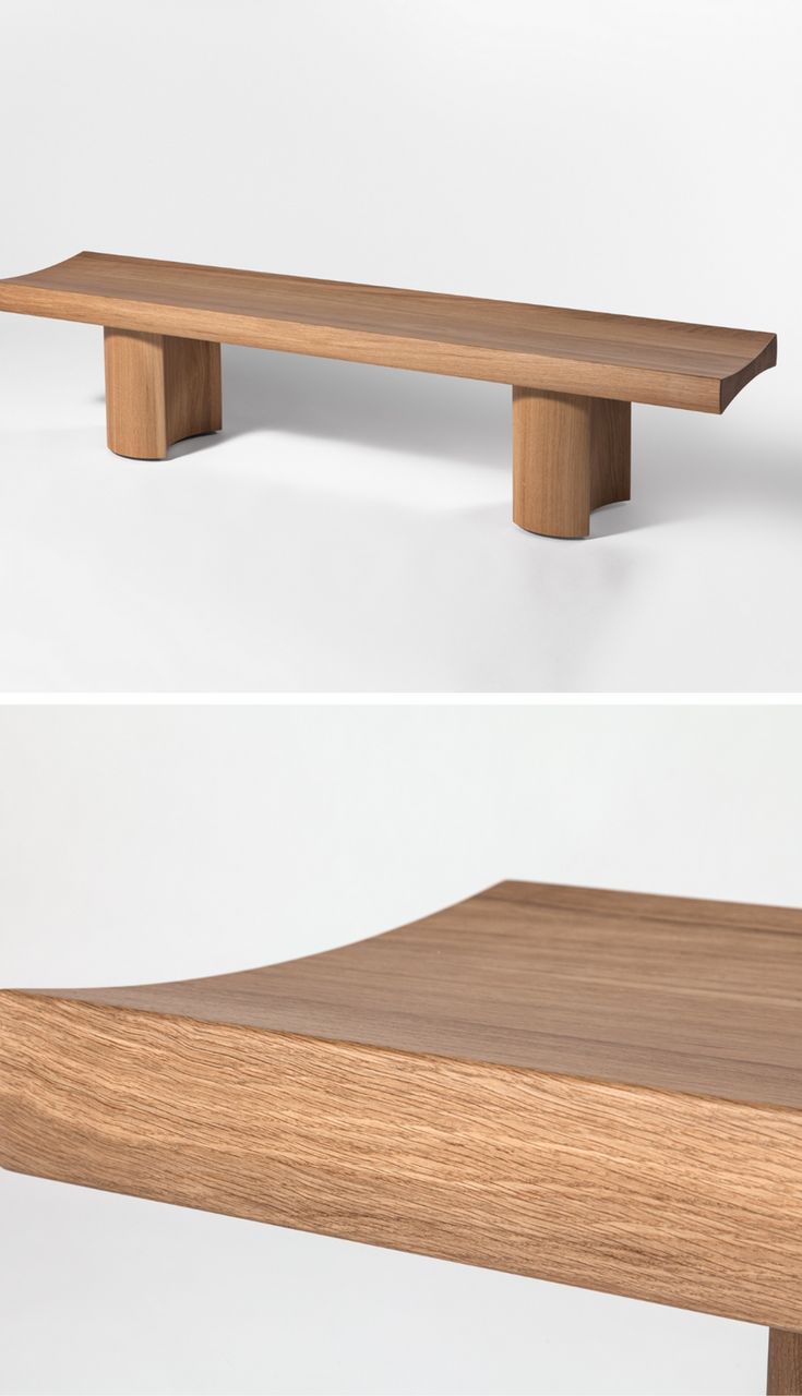 Hakone by Barber & Osgerby | wood, metal, concrete, glass, leather ...
