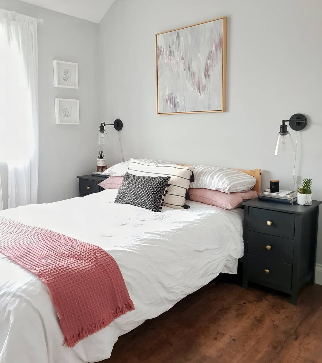 farrow and ball dimpse light bright master bedroom grey pink white wood with images on grey and light pink bedroom decorating ideas id=58929