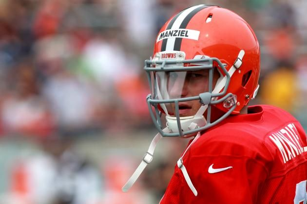 Early Studs And Duds From Nfl Training Camps Johnny Manziel Cleveland Browns Cleveland Browns Quarterback