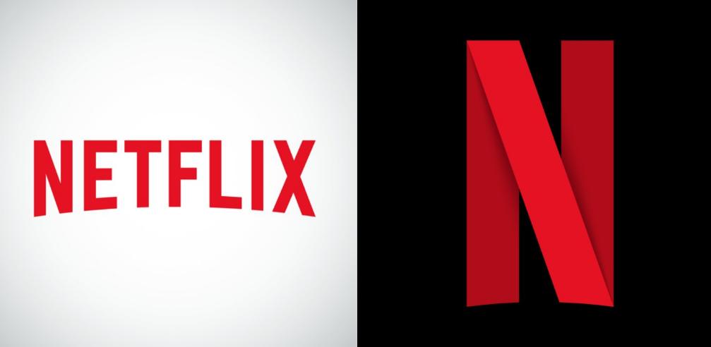 Netflix just revealed a new icon logo Word mark logo