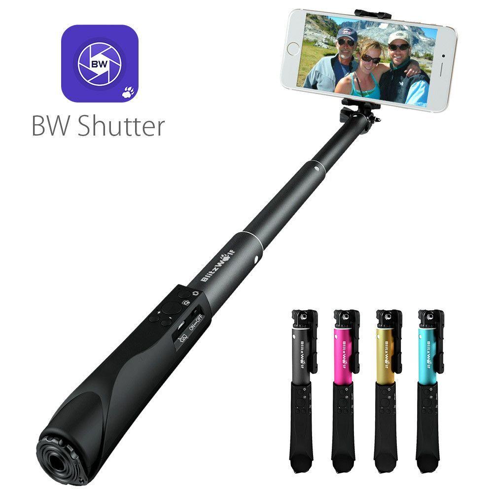 Extendable bluetooth selfie stickmonopod by blitzwolf