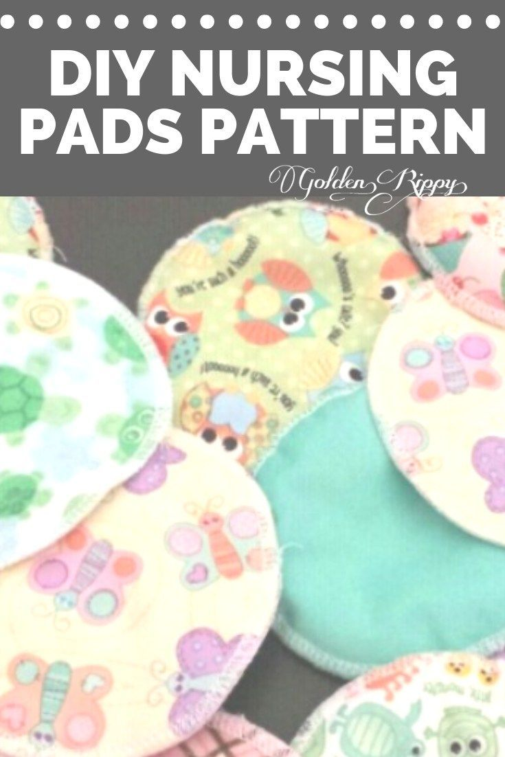 Free DIY Nursing Pads pdf sewing pattern! I wish I had these seven years ago. I bought a pattern once for nursing pads, but it was really hard to understand and I ended up with 1 inch thick scratchy discs to use. They were horrible and completely obvious. These ones are a perfect gift for new moms.