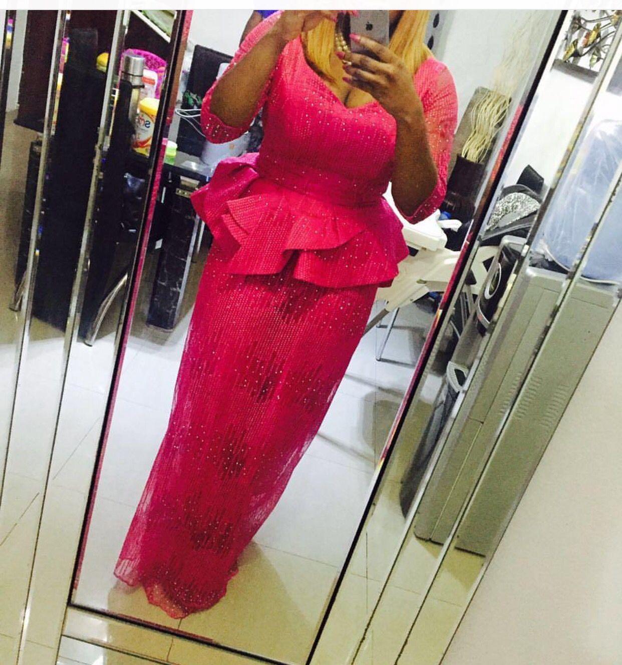Modern iro and buba lace trending classy chiclastest fashion