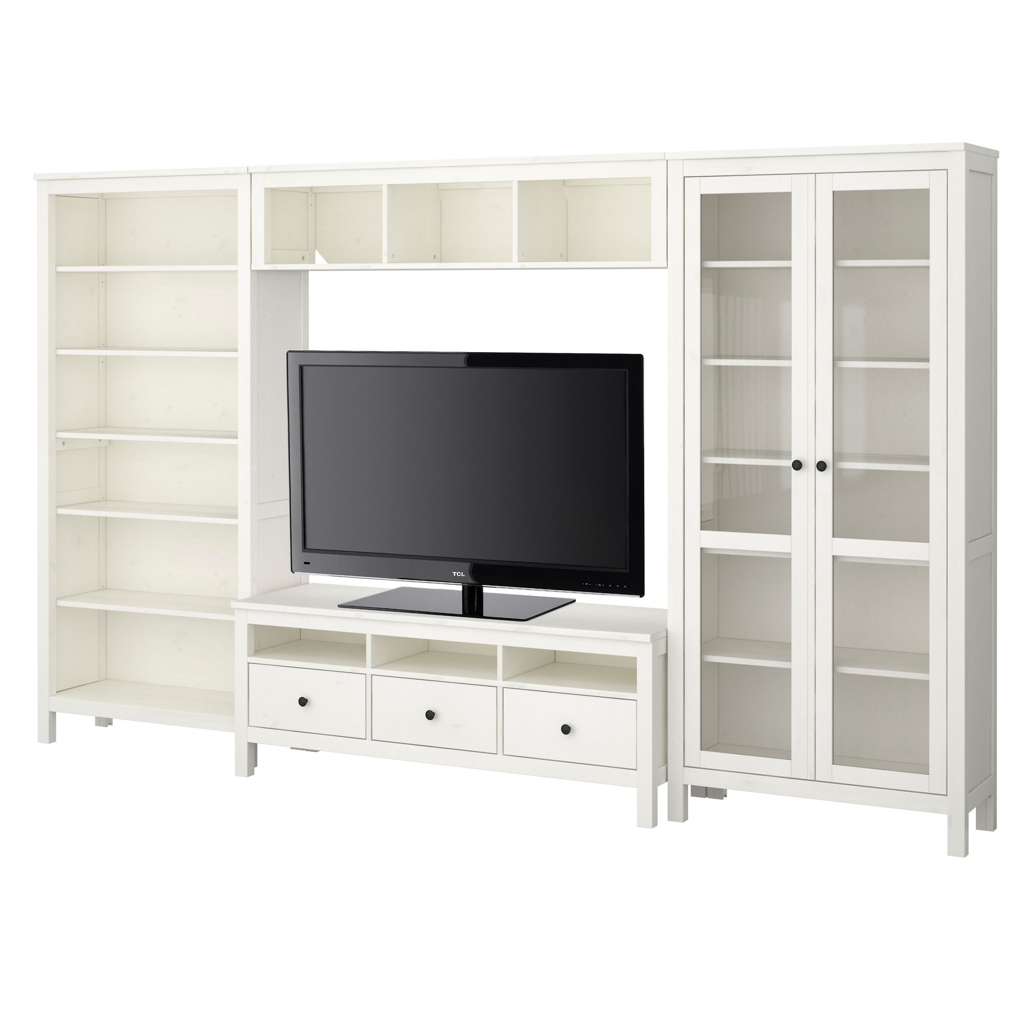 Love This Full Wall Shelving Unit This One Appears To Be Compiled  # Grand Meuble Tv Ikea