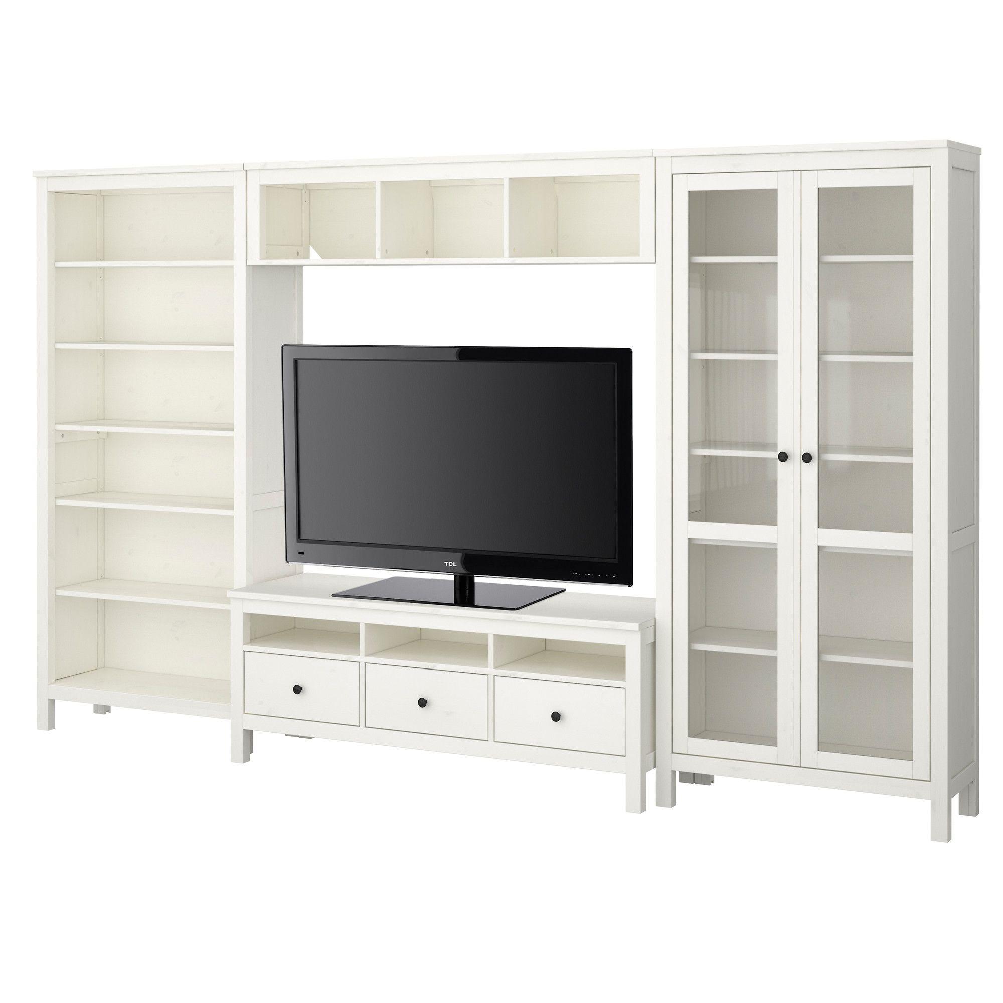 Hemnes Tv Storage Combination White Ikea