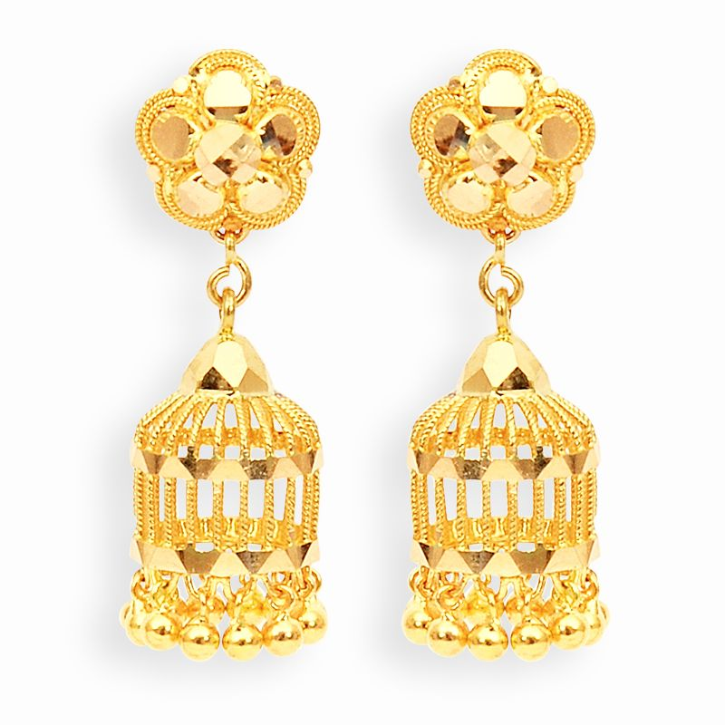parrot cage jimikki earrings | F A S H I O N | Pinterest | Gold ...