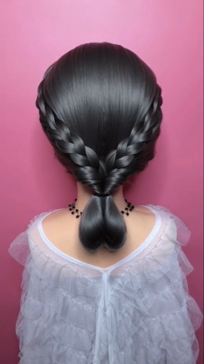 Braided hairstyle for long hair video tutorial simple and beautiful -   24 hairstyles Videos women ideas