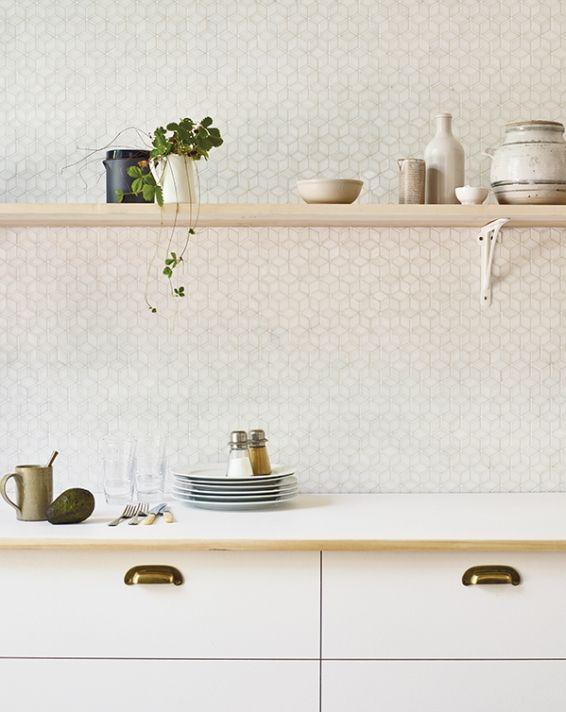 Fired earth   Kitchen tiles, Kitchen splashback tiles, Decor