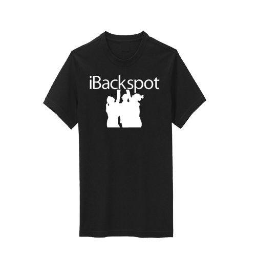 Black iBackspot T-Shirt - White Print - C311LF340MR - Sports & Fitness Clothing, Girls, Shirts  #Shi...
