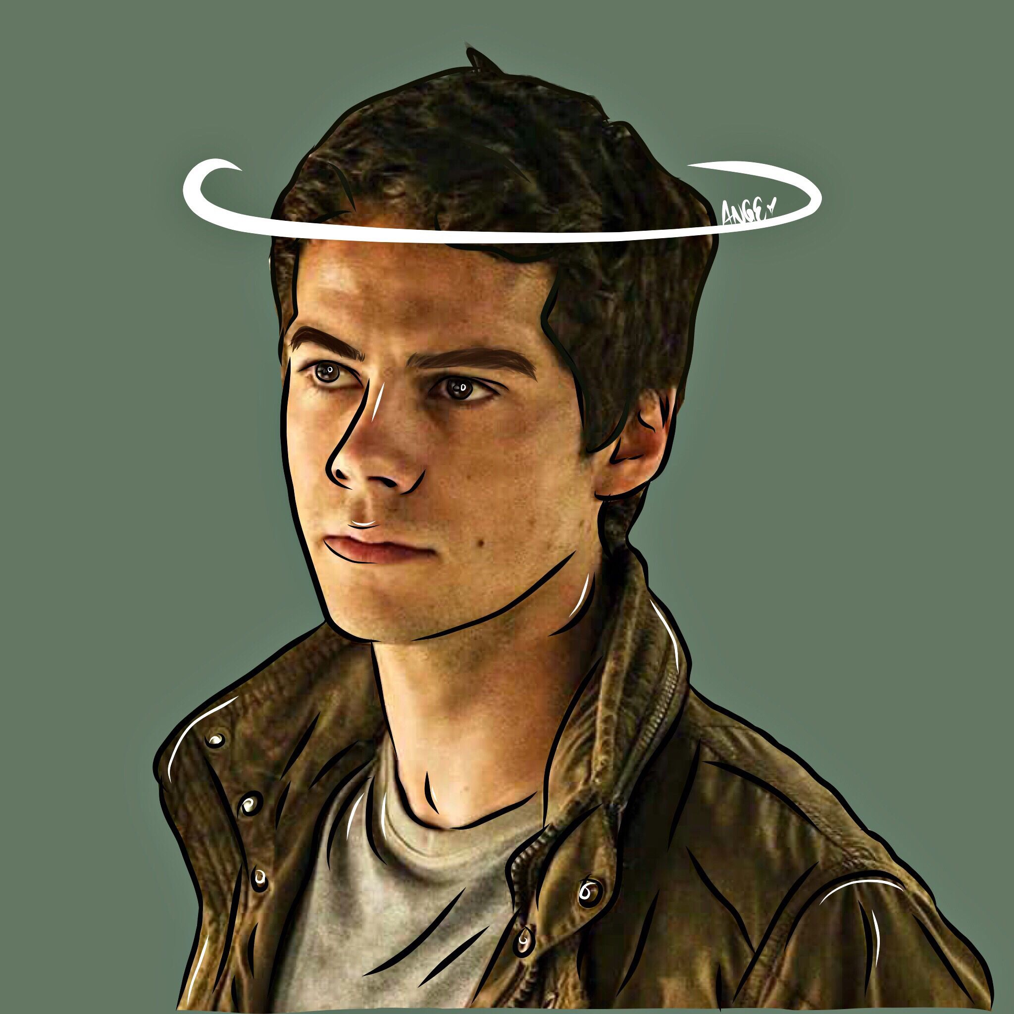 Dylan O Brien Outline Dylan O Brien Dylan O Dylan