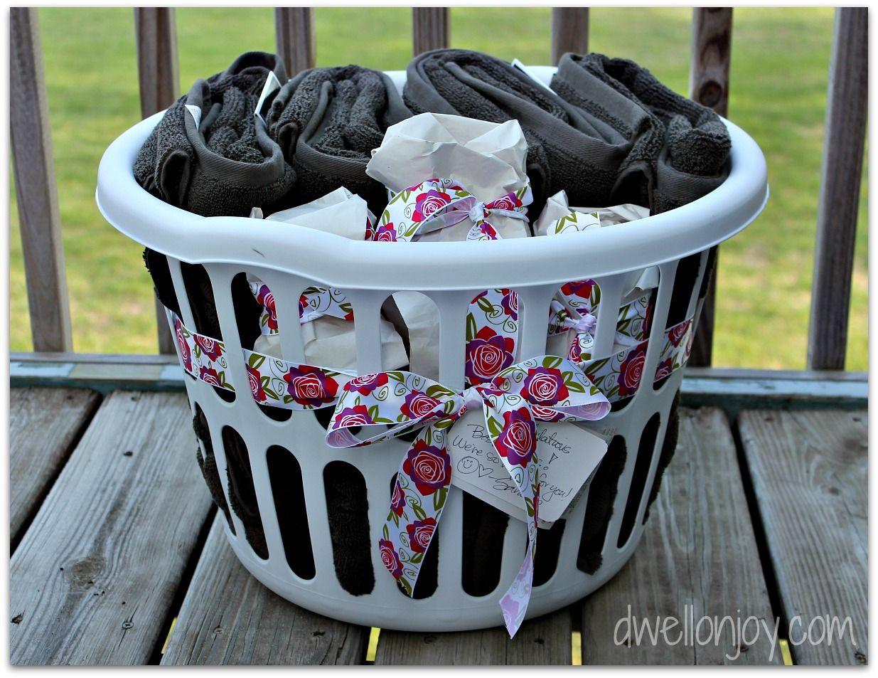 Unique bridal shower gift basket ideas free image
