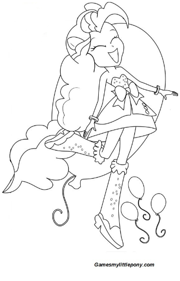 Equestria Girls Pinkie Pie Sing In 2020 My Little Pony Coloring Coloring Pages For Girls Disney Coloring Pages