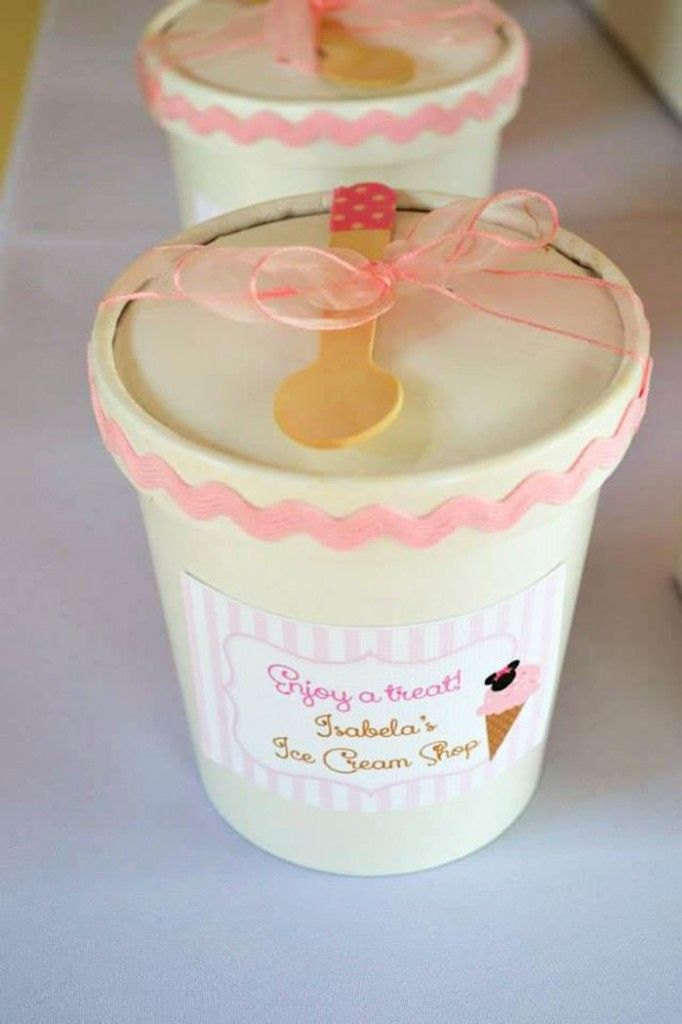 Minnie Mouse Ice Cream Party full of ideas via Kara's Party Ideas KarasPartyIdeas.com #minniemouse #party #supplies #ideas #birthday #icecream (33) | Kara's Party Ideas