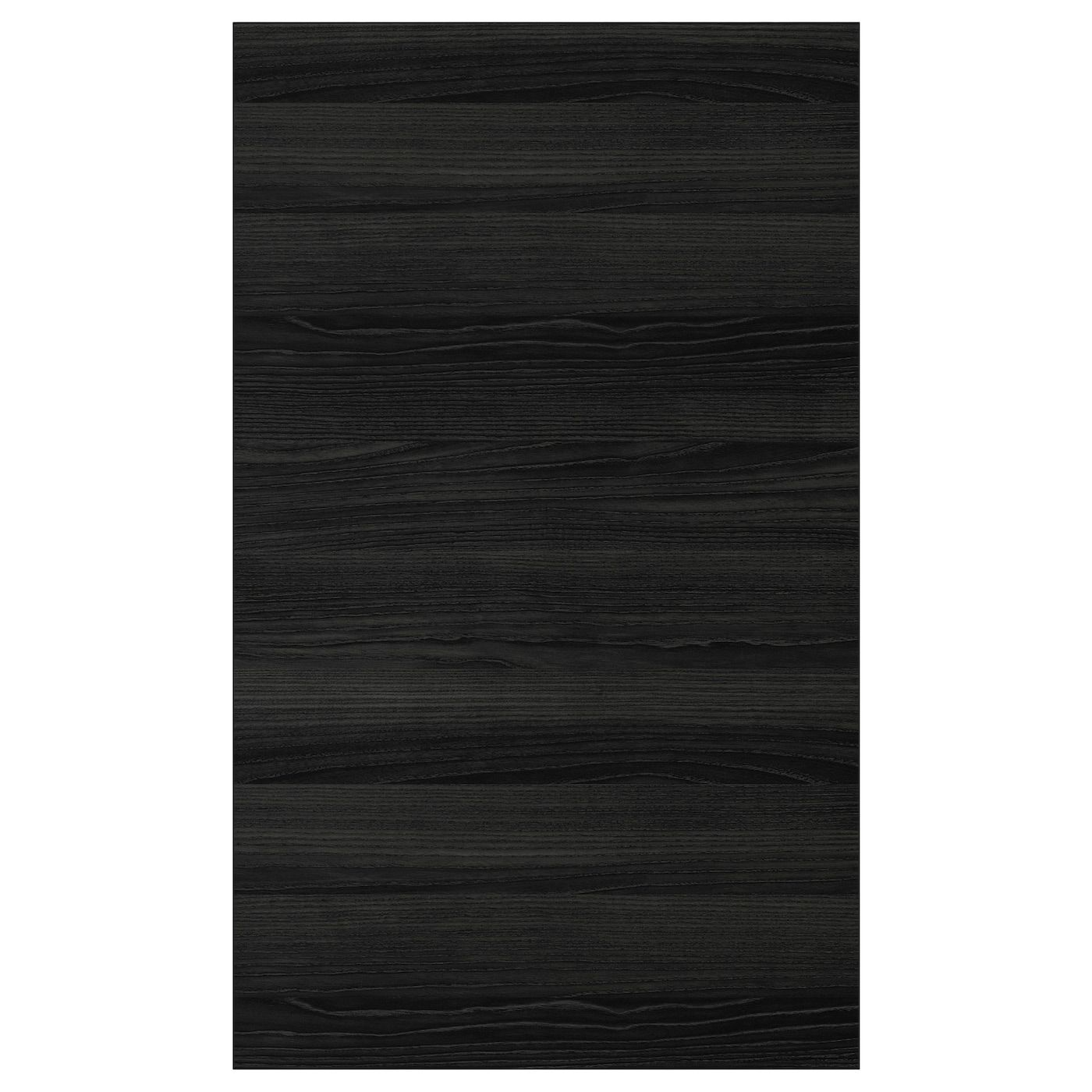 Tingsryd Porte Effet Bois Noir 60x100 Cm In 2020 Wood Doors