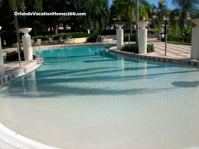 Residential Zero Entry Pool Design With Slides