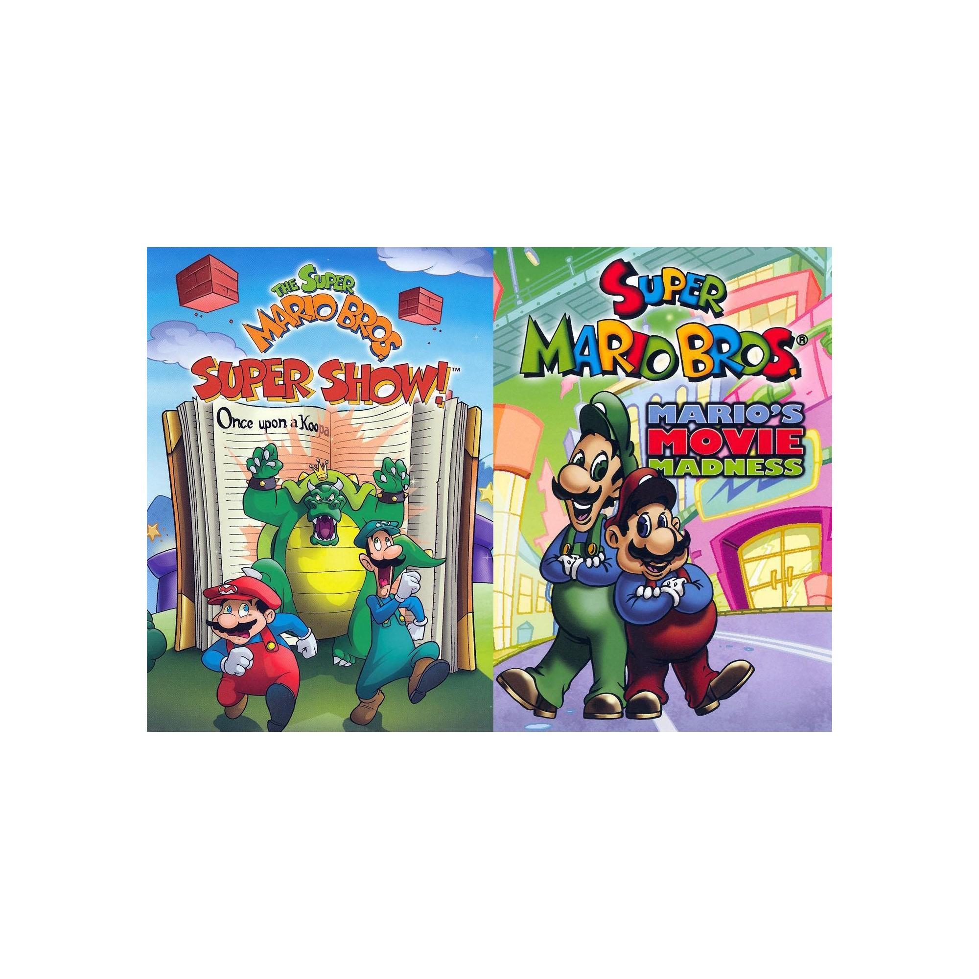 Super Mario Bros Discs MovieOnce Super mario bros Mario bros
