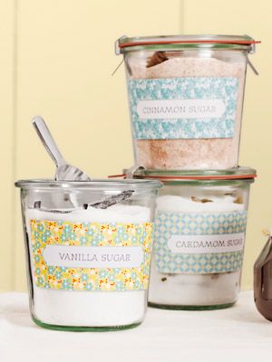 4 Gift Ideas From Pantry Staples Diy Food Gifts Flavored Sugar Jar Gifts