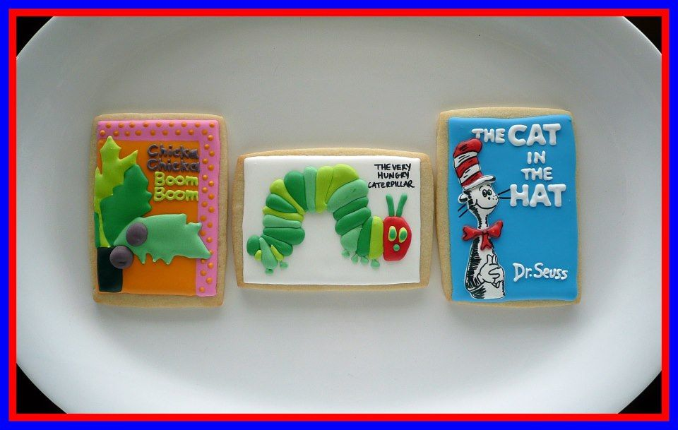 Children's Book Cookies