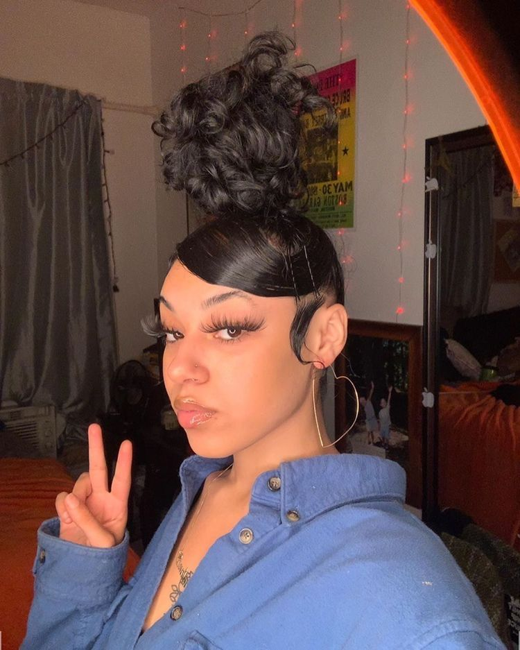 23++ Ponytail with two strands in front weave ideas