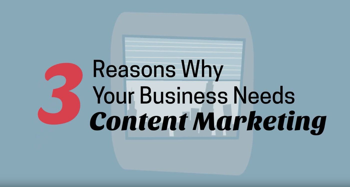 3 Reasons Why Your Business Needs Content Marketing | LoSoMo Inc.