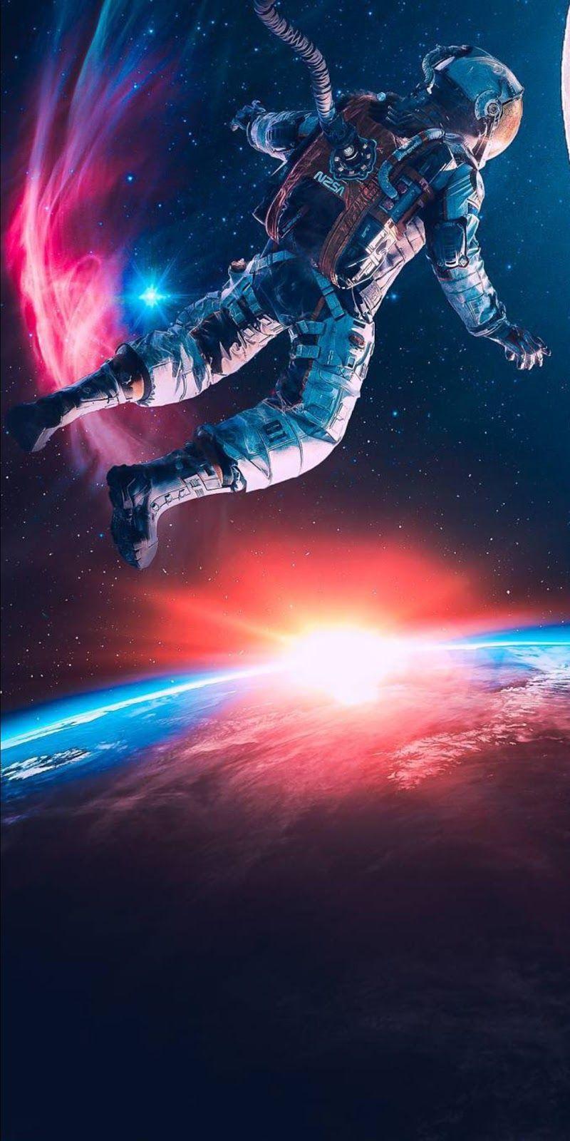 Astronaut #falliphonewallpaper