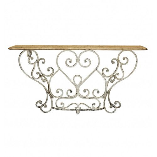Buy Online The Stylish Provincial Iron Lace Console With Australia