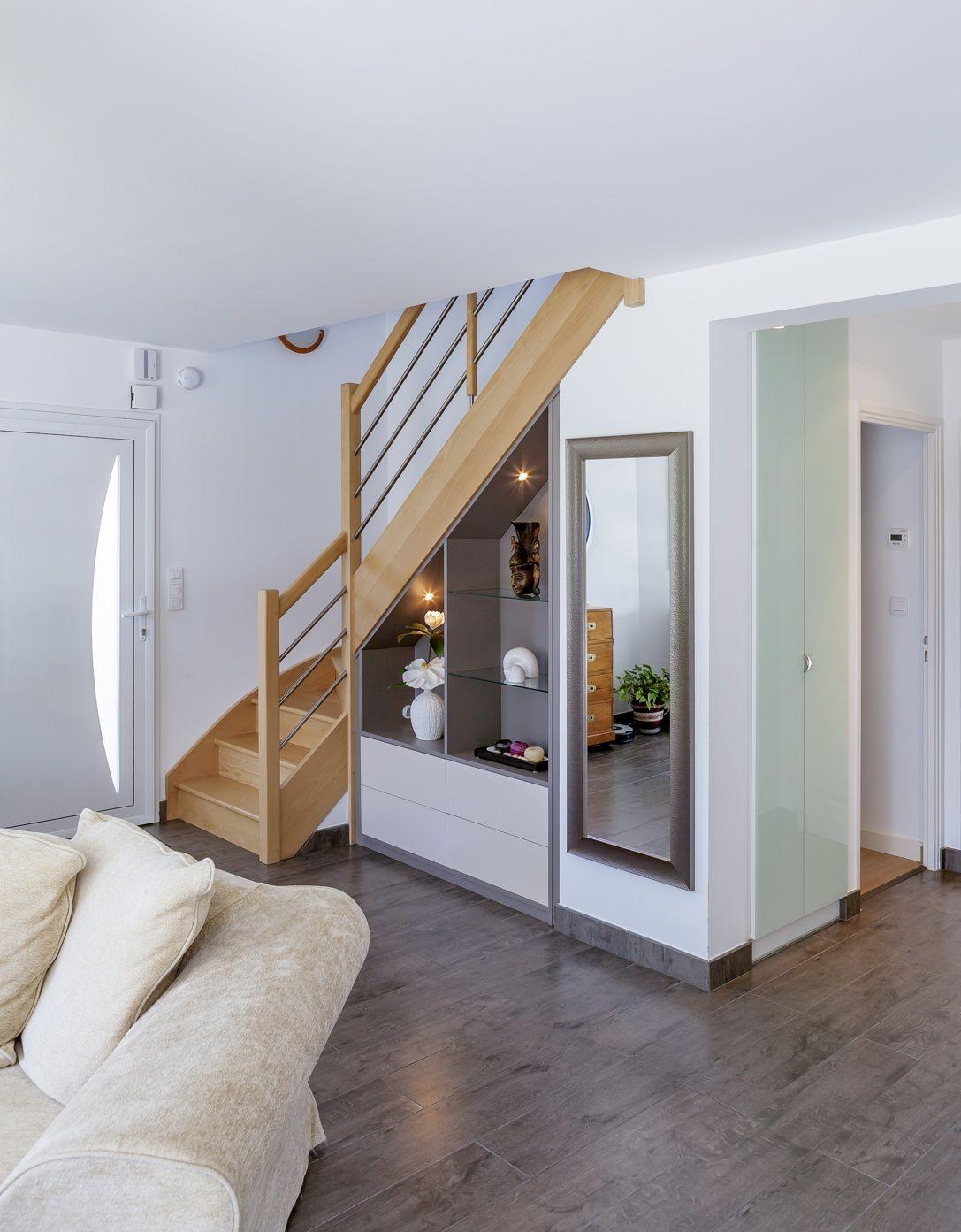 Entree Maison Meuble Sous Escalier Sous Escalier Placard Design