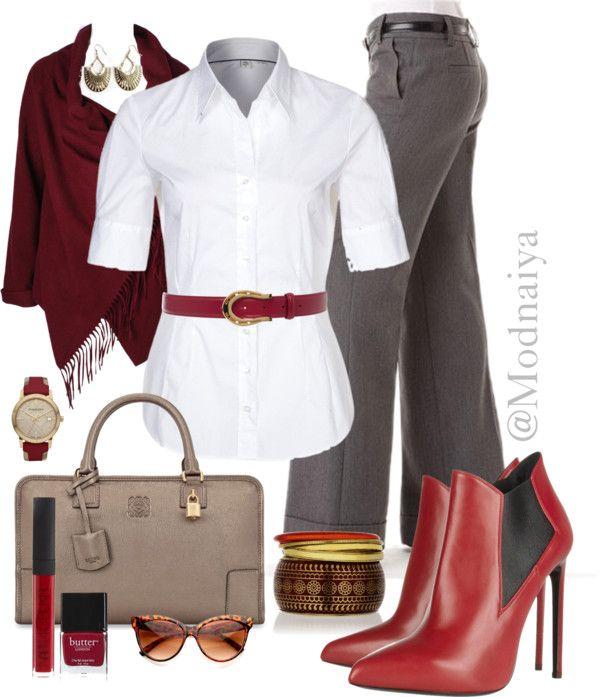 """""""Stylish and businesslike!"""" by modnaiya on Polyvore"""