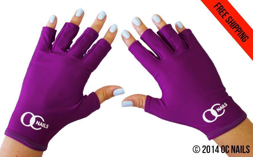 UV Shield Glove ~ Amethyst