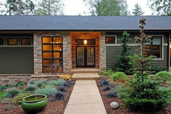 Natural energy efficient house design at bainbridge island - Interior design bainbridge island ...