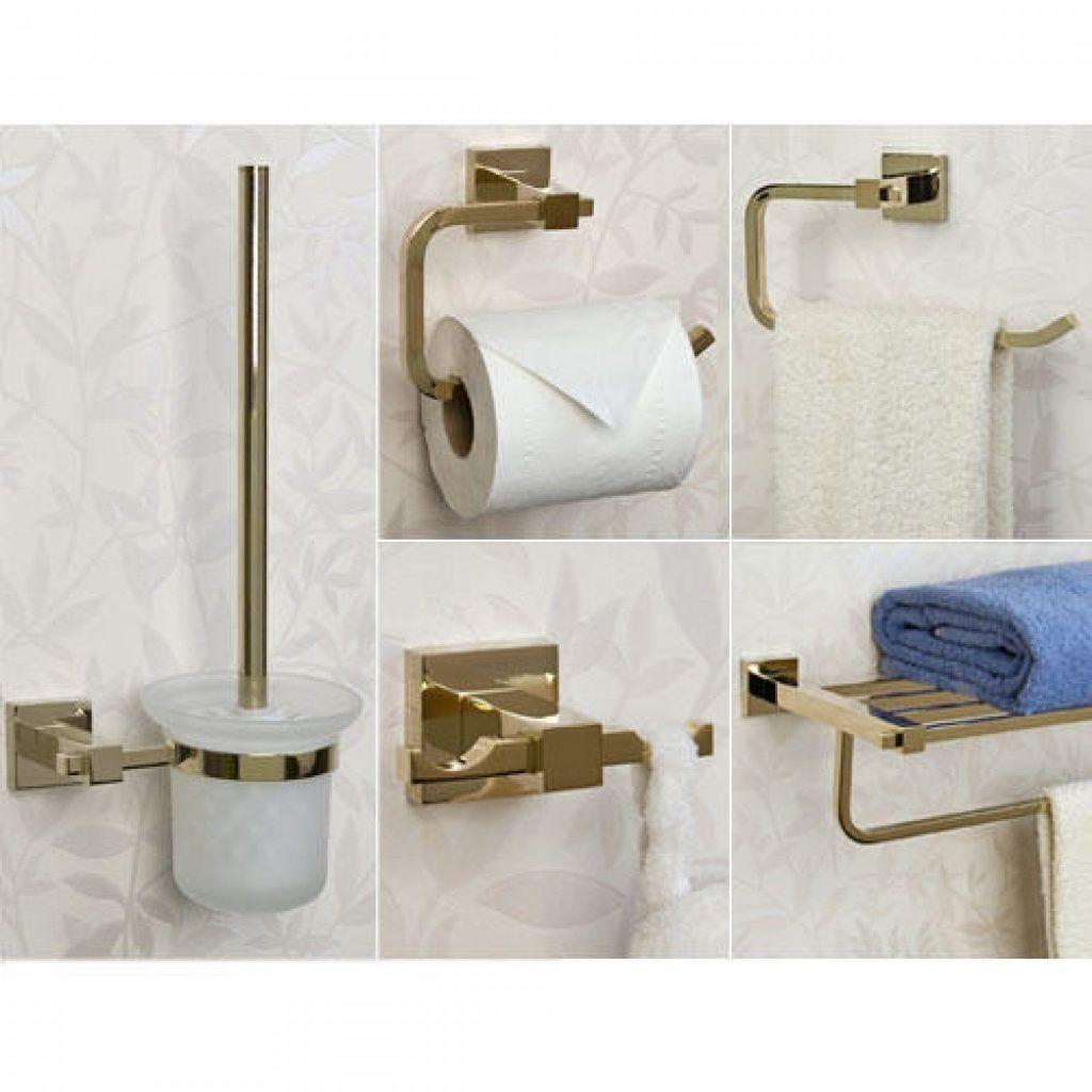 Bathroom Accessories Sets Albury 5 Piece Bathroom… | Bathroom ...