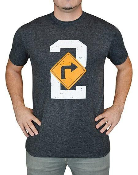 Baseballism Men's Turn 2 T-Shirt TURN This Baseballism t-shirt is made from soft and comfortable poly cotton blend for a light and durable fit and feel.