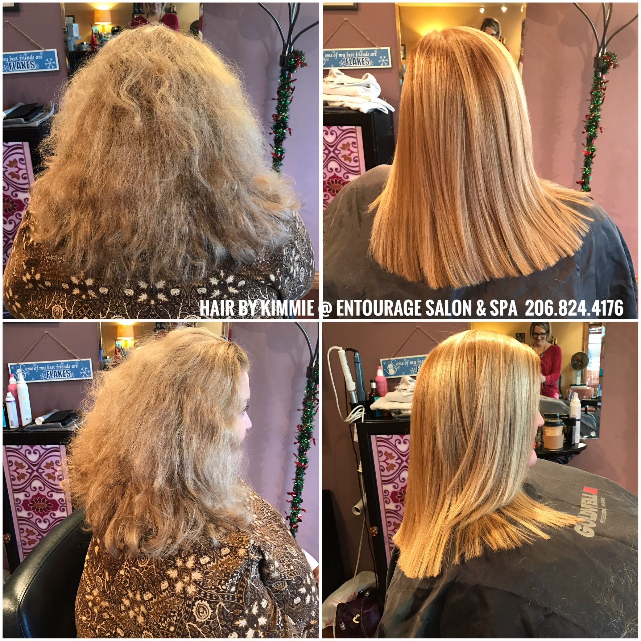 Brazilian Blowout by Kimmie Moore Entourage Salon and Spa