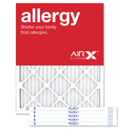 Best for Allergy Protection AiRx Allergy 20x25x1 Air