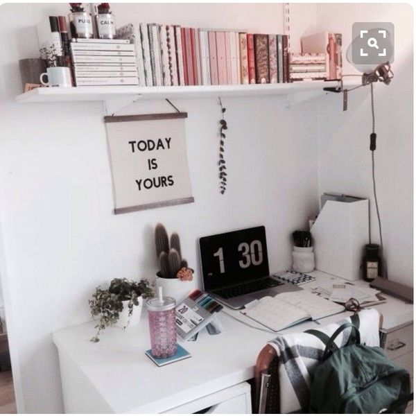 Desk Space Office Decor Office Inspiration Workspace Girly