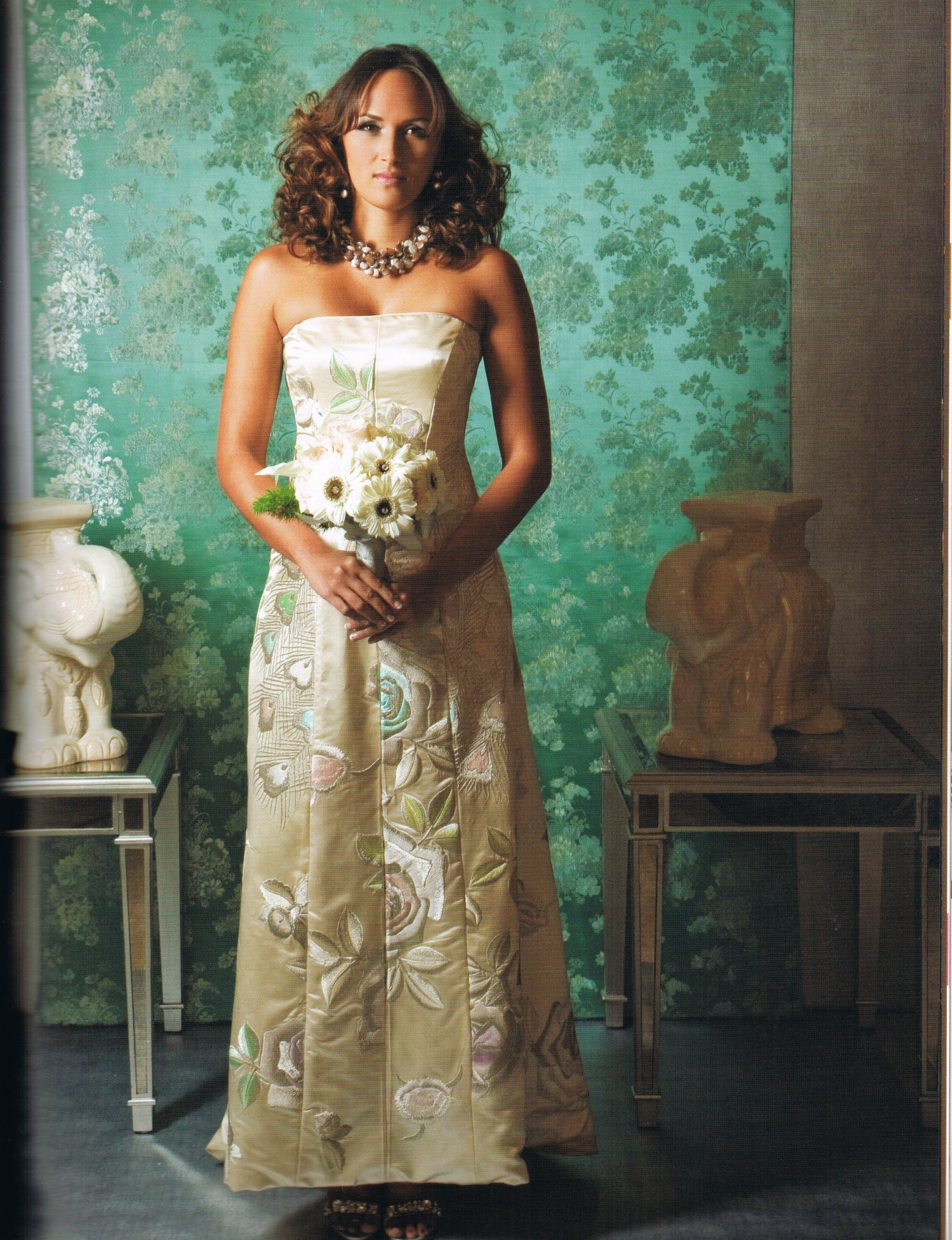 day1:wedding dress} - Ashley Gown by Anne Namba (same exact style ...