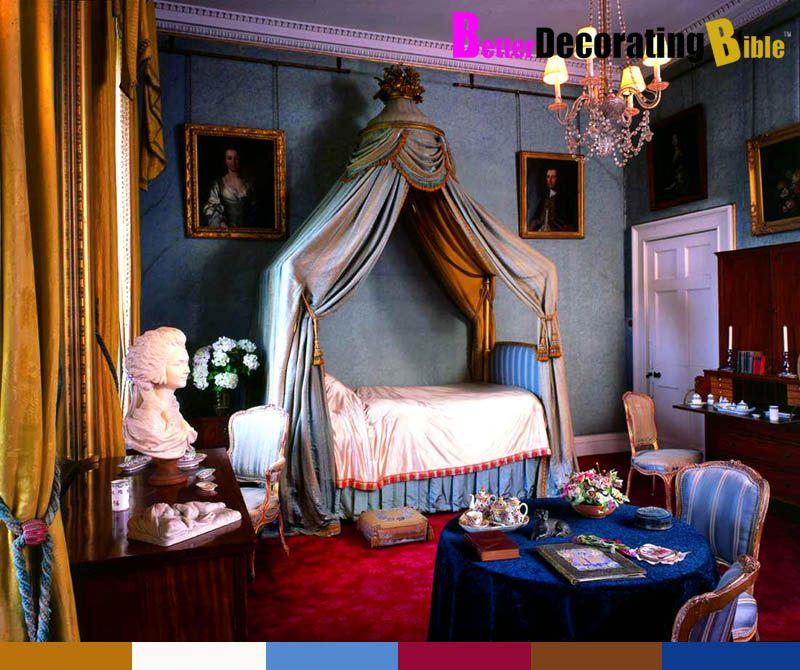 Luxury French Decor/images | Trim Moulding Blue French English Regency Old  World Better Decorating