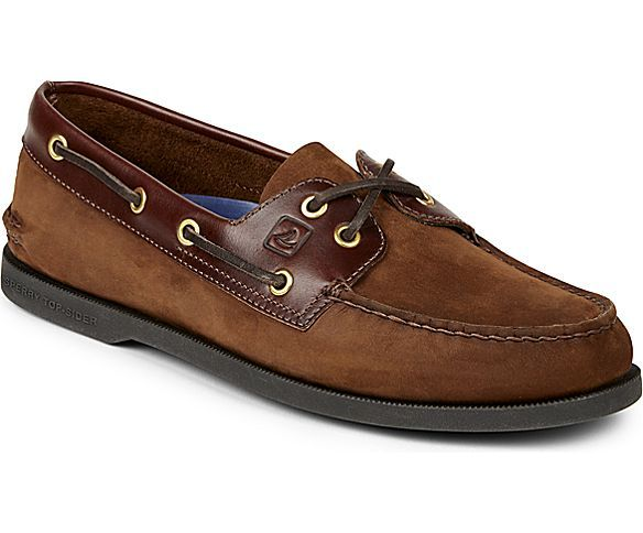Authentic Original 2-Eye Boat Shoe. Mens Boat ShoesLeather ...