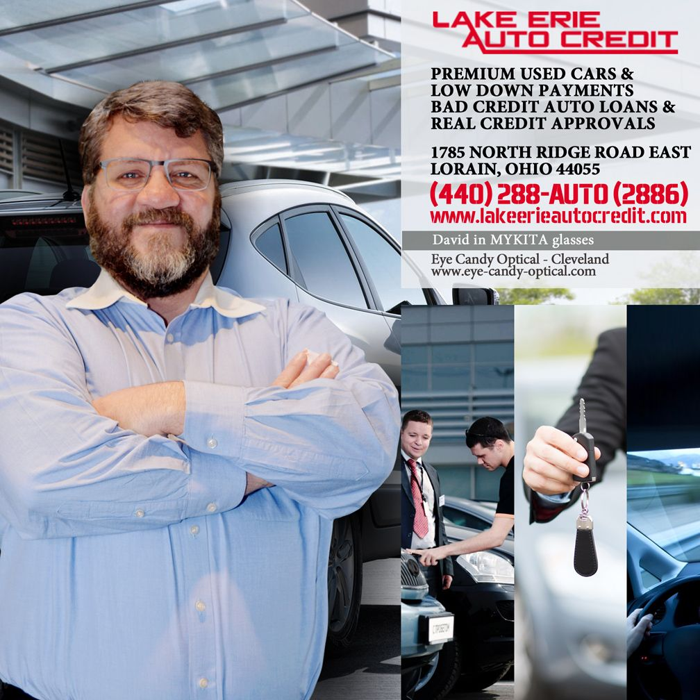 Lake Erie Auto Credit >> David From Lake Erie Auto Credit Looks Sophisticated And Cool In His