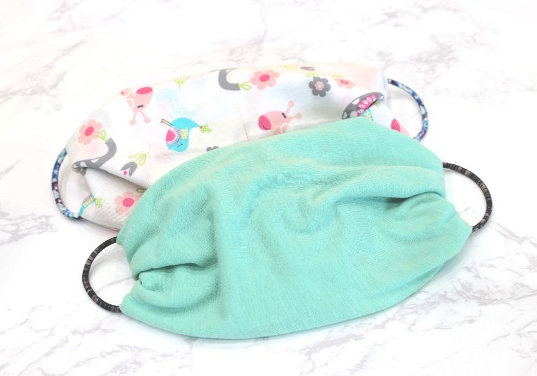 How To Make A No Sew Face Mask Using A T Shirt Or Bandanna Easy