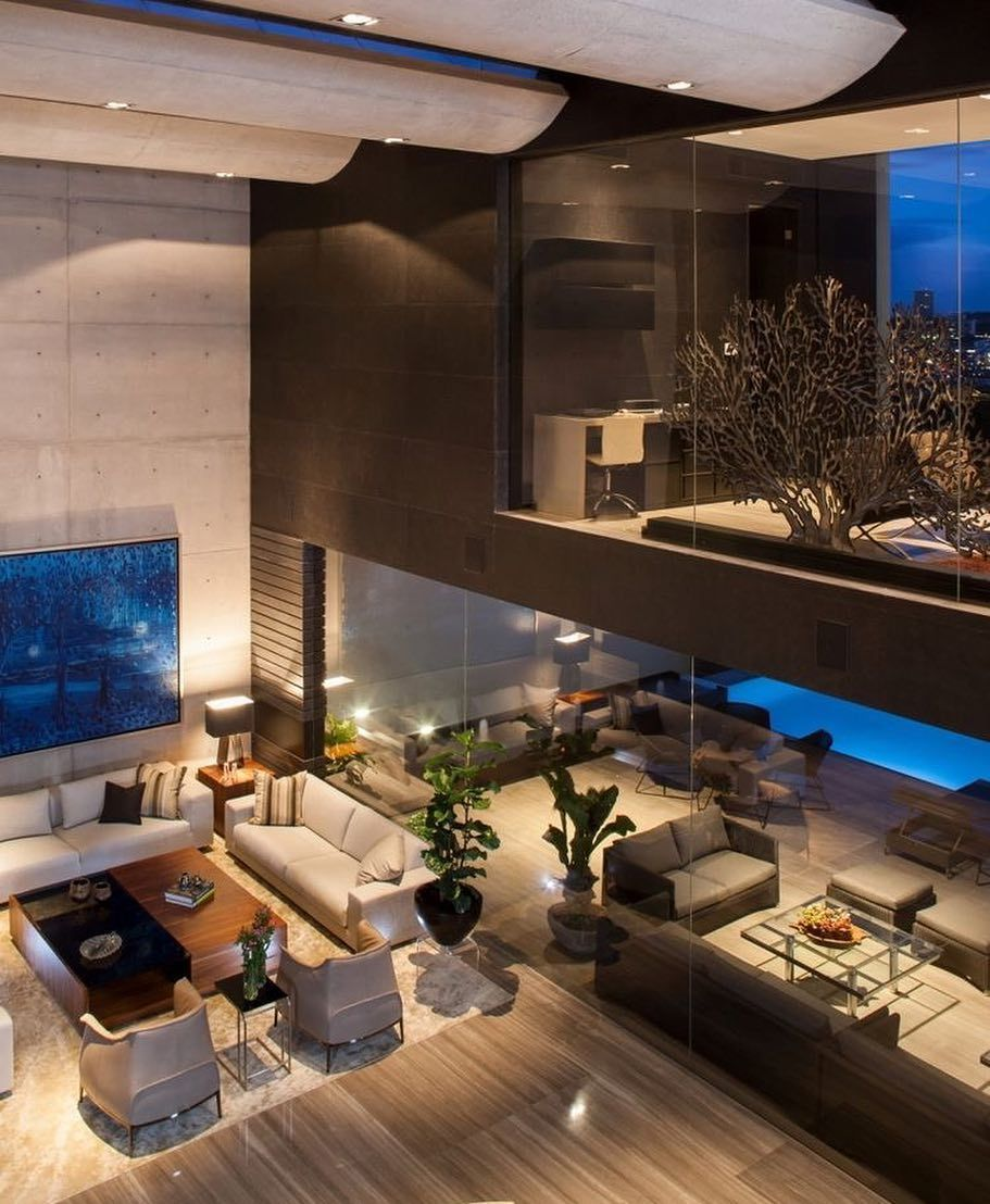Pé Direito Duplo Numa Arquitetura Para Sonhar