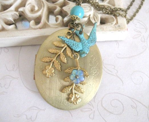 filigree the tree mm eod locket long lockets grande collections chain turquoise crop contemporary