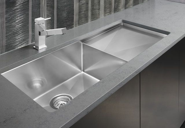 "10 X 16 Kitchen Design Blanco 30"" X 16"" X 10"" With 16"" Side Drain Model #516216"