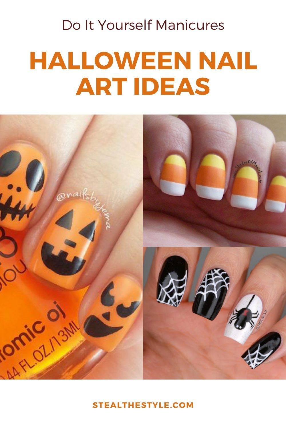 Halloween Nail Art Ideas That You Can Do Yourself In 2020 Halloween Nails Halloween Nails Easy Nails