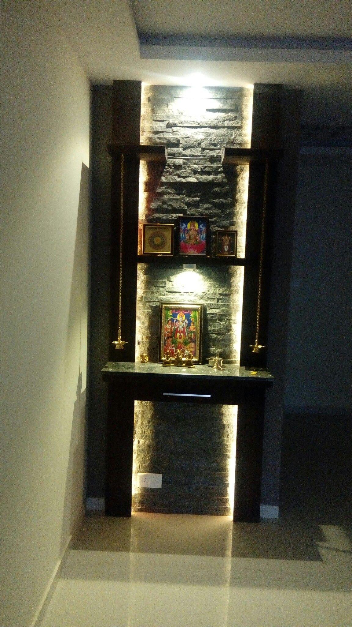 10 Pooja Room Door Designs That Beautify Your Mandir Entrance: Beautiful Houses Interior, Pooja Room Door Design