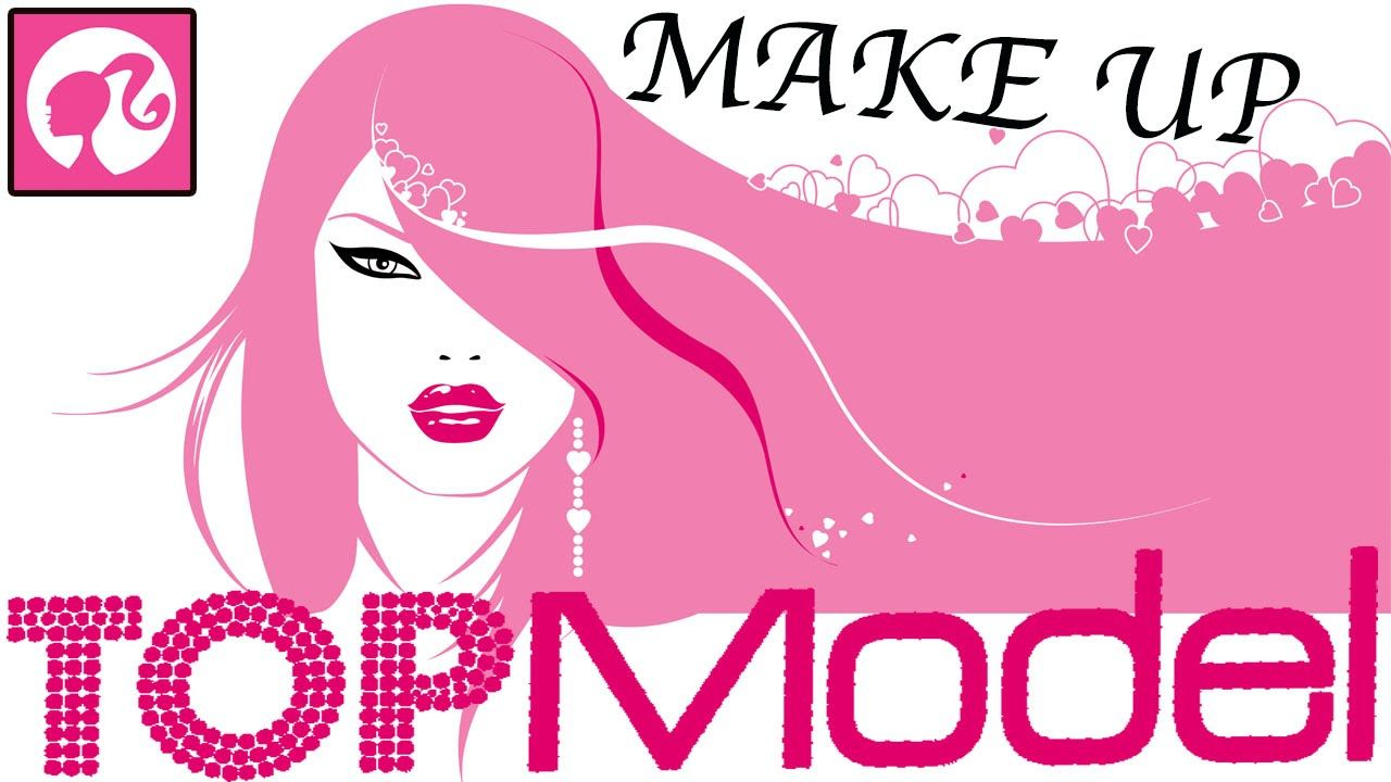 Мультик Раскраска смотреть онлайн. Top Model Make Up ...