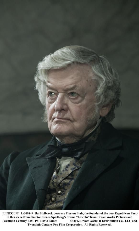 Lincoln 2012 Hal Holbrook Portrays Preston Blair The Founder Of The New Republican Party Civil War Art Jackie Earle Haley Preston Blair