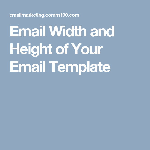 Email Width 550 To 600 Pixels And Height 300 To 500 Pixel Preview