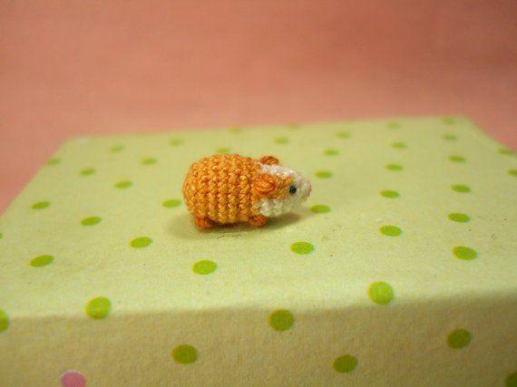 30 mini animalitos en crochet más pequeños que tu dedo meñique - Las Manualidades