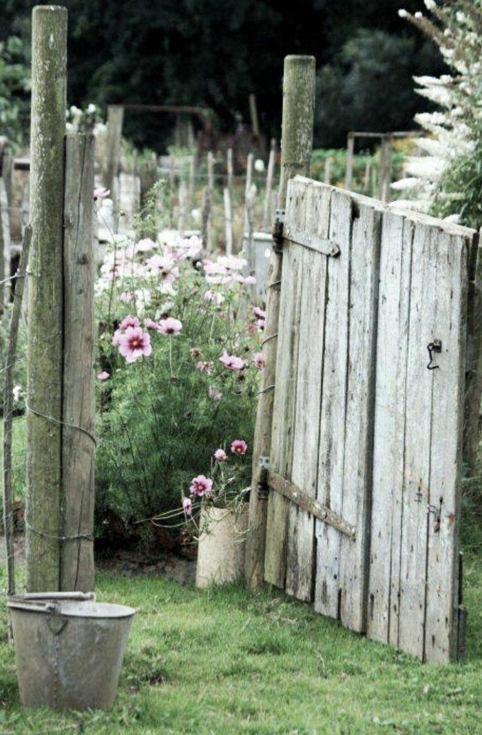 26 Gartentor Designs Die Den Eintritt In Den Garten Spannender